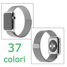 Cinturino loop milanese per Apple Watch serie 1 2 3 4 5 6 SE 38 40 42 44 mm
