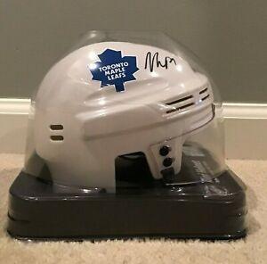 William Nylander Autographed Replica Toronto Maple Leafs White Mini Helmet