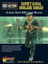 28mm Warlord Games Bolt Action Soviet Naval Brigade Squad. WWII BNIB