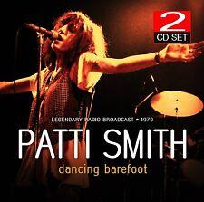 PATTI SMITH - DANCING BAREFOOT/RADIO BROADCAST 1979  2 CD NEU