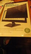 "Secure View Notebook/LCD Privacy Filter, Fits 23"" Widescreens"