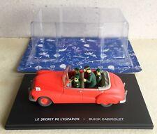 Blake & Mortimer Buick cabriolet 1/43 Le secret de l'Espadon
