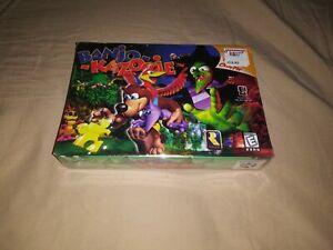 Banjo-kazooie (Nintendo 64, 2000) factory sealed