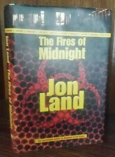 The Fires of Midnight by Jon Land 1995 SIGNED x2 first edition 1st printing