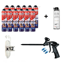 POLYNOR PRO (set 29 parts) closed cell can PUR spray insulation foam kit PU
