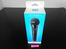 BRAND NEW!!!  Official NINTENDO WII U MICROPHONE Black D-6