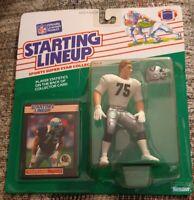 1989 Howie Long Oakland Raiders Kenner Starting Lineup Near Mint+