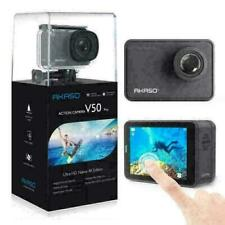 AKASO V50 Pro Action Camera 4K 30fps 20MP Camcorder Touch Screen   Refurbished
