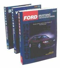 BMW 3-Series including M3 & Z3 1989-1998 (Chilton's Total Car Care Repair Manua