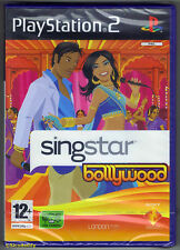 PS2 SingStar Bollywood (2007), UK Pal, New & Sony Factory Sealed