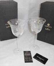 Rosenthal VERSACE Medusa Gala 2 x Rotweinglas Neu & Ovp Glas