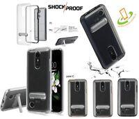 Samsung GALAXY Note 9 Hybrid Slim Armor Bumper Rubber TPU Case Cover Kickstand