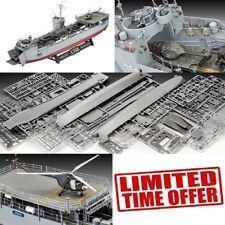 "Ship Model Kits 21"" Navy Military Naval Plastic Assembe Vintage Shipbuilding Lsm"