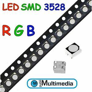 20  LED  SMD 3528 RGB PLCC 4