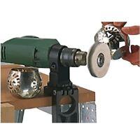 Wolfcraft Kombihalter 4802, drehbar, Bohrmaschinen Halterung, Winkelschleifer