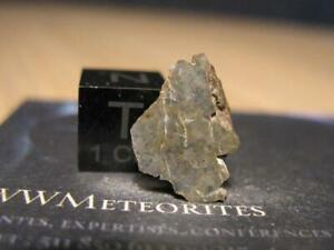 Lunar Meteorite (Feldsp. Regolith Melt Breccia) - Lahmada 020 (27.411°N;9.845°W)