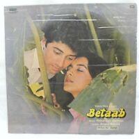 Betaab LP Record Bollywood Hindi R D Burman Rare Vinyl 1983 Indian VG+