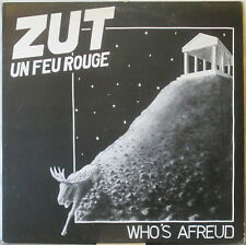 ZUT UN FEU ROUGE Who's Afreud LP Swedish Avant Prog – on Bauta Records