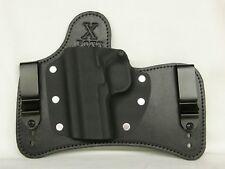 FoxX Leather & Kydex IWB SOB Hybrid Holster Sig P365 XL Black RH & Comfort pad