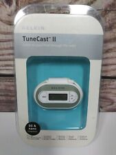 NEW Belkin TuneCast II FM Transmitter for iPOD Music Players F8V3080-APL