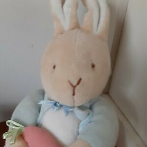 """Vintage Eden My First Peter Rabbit Plush 7"""" Toy Bunny Beatrix Potter Baby puffy"""