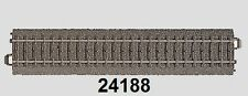 MÄRKLIN H0 24188C PISTA Recto 188,3mm - NUEVO
