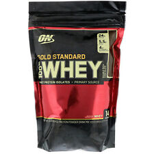 Optimum Nutrition  Gold Standard 100  Whey  Double Rich Chocolate  1 lb  454 g