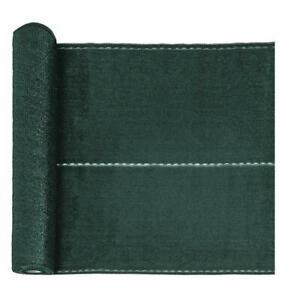 HDPE-Zaunblende Sichtschutz 1,6 x 10 m Tennisblende Schattier Gewebe grün