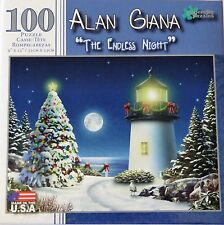 NEW Alan Giana 100 Piece Puzzle ~ The Endless Night ~ FREE SHIPPING