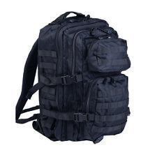Mil-Tec Military Molle Assault Tactical Backpack 36L Black