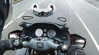 RiderScan Motorcycle Blind Spot Mirror lifesaver new safety innovative product