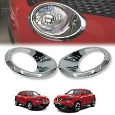 CHROME COVER FRONT HEADLIGHT TRIM FIT FOR NISSAN JUKE 2014-2018