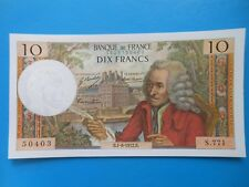 10 francs Voltaire 1-6-1972 F62/57 S.771 NEUF