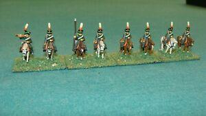 15mm Napoleonic Russian Chasseurs {8}