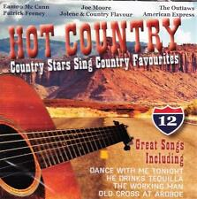 HOT COUNTRY - COUNTRY STARS SING COUNTRY FAVOURITES  - VARIOUS ARTISTS (NEW CD)
