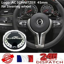 Logo pour AC SCHNITZER 45mm pour Volant BMW steering wheel badge emblem stickerL