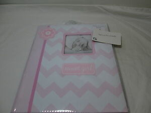L'il Peach SWEET GIRL Baby Memory Record Book First Five Years - Pink/White NEW