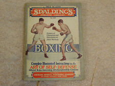 Spalding's Athletic Library No. 25B - Boxing Paperback 1926