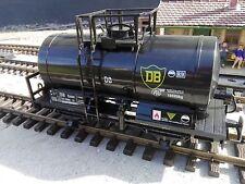 Schwarzer Kesselwagen von Train/Newqida für Spur G, LGB, Piko, neu; OVP