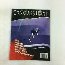 Concussion Issue 27 Magazine Fdr Arizona Jai Tanjv Mike Patton Corey Smith