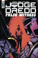 Judge Dredd False Witness #4 (of 4) Cover A Comic Book 2021 - IDW