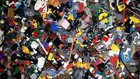 FZK ## LEGO ## MINIFIGUR / MÄNNLEIN ## 100 GRAMM GEMISCHTES FIGUREN ZUBEHÖR ##