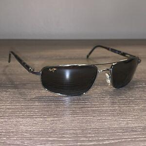 Maui Jim Kahuna Sunglasses MJ162-02 Gunmetal with Neutral Grey Lenses