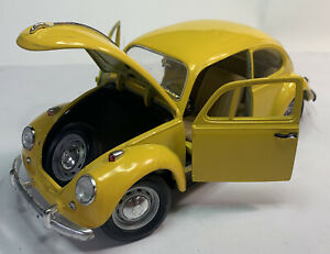 Road Tough 92078 -1967 VOLKSWAGEN BEETLE - yellow -VW BUG