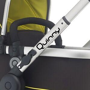 QUINNY Replacement pram logos. Vinyl decal pushchair, stroller. Transfer sticker