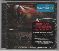Bon Jovi THIS HOUSE IS NOT FOR SALE LIVE Walmart exclusive cd still sealed