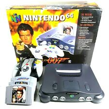 Nintendo 64 Goldeneye 007 Console N64 Bundle Boxed UK Fast Post