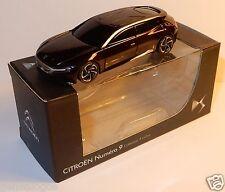 Norev 3 inches 1/54 Citroen Concept car numero 9 Mondial Auto Paris 2012 Violet