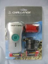Challenge Krypton Front & Rear LED Bike Cycle Light Set Inc Fittings & Batteries