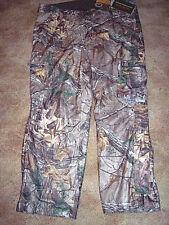 Mens 3X Camo Hunting Pants Realtree Camo Rain Pants Scent Control Browning $150